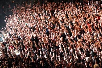 Amphi-Festival 2015 in der Kölner Lanxess Arena / Foto: Dunkelklaus