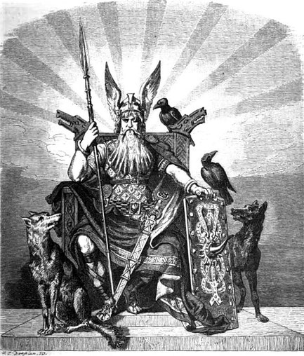 Wolf mythologie mythos wölfe geschichte kultur kulturen mensch menschen magie odin germanische nordische freki
