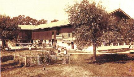 historisches Bild Hairerhof Wall
