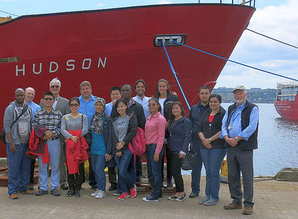 2015 course participants at The Bedford Institute of Oceanography