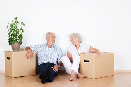 Wohnungssuche und Unterstützung beim Umzug