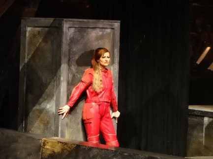 Hermine Haselböck as Fricke in Wagner's Die Walküre 2015
