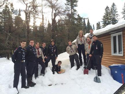 Nous étions 11 membres de l'AABP présents lors de la formation dont 8 de notre clan
