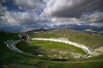 Alba Fucens. Massa d'Alba, Abruzzo