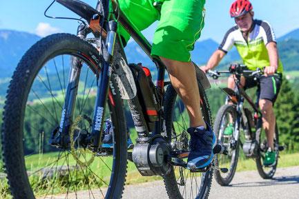 E-Bike E-MTB Fortbewegungsmittel Ebike Konzepte Freizeit Tourismus