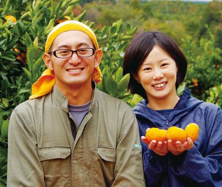 三重県熊野市にあるみかん果樹園「翔真果樹」です。