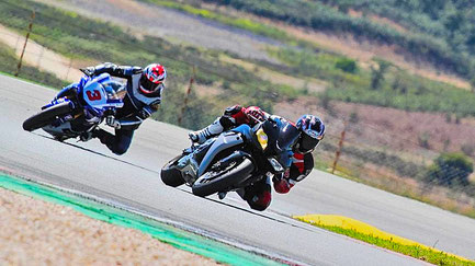 Motorbike racing in Algarve Portugal