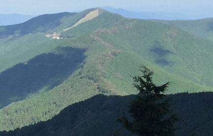 大峯奥駈道 吉野山から山上ヶ岳の道中