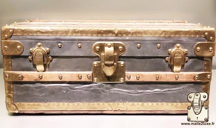 Louis Vuitton cabin trunk - Zinc and Brass