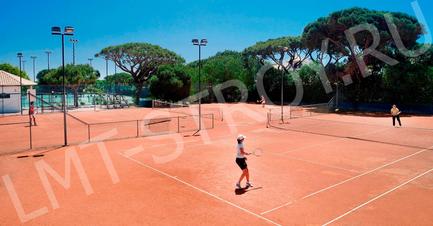 Почему лучше построить грунтовый теннисный корт?