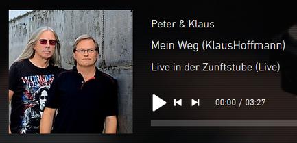 Peter & Klaus Liederabend