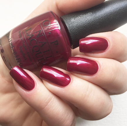 Swatch OPI Bastille My Heart