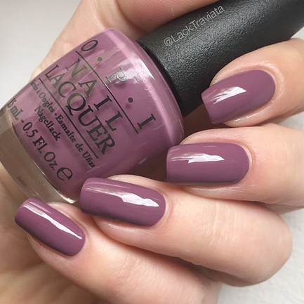 Swatch OPI I'm Feeling Sashy