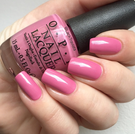 Swatch OPI Japanese Rose Garden
