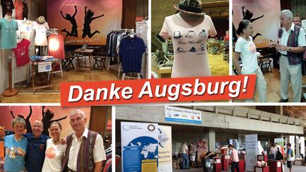 freudensprung fashion auf den Bayerische Eine Welt-Tagen in Augsburg!