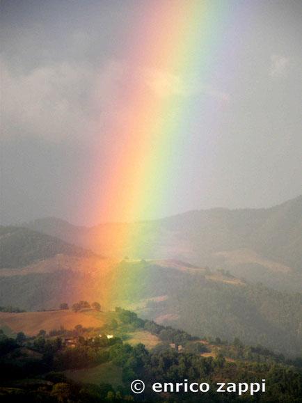 Arcobaleno a Montegranelli - Bagno di Romagna