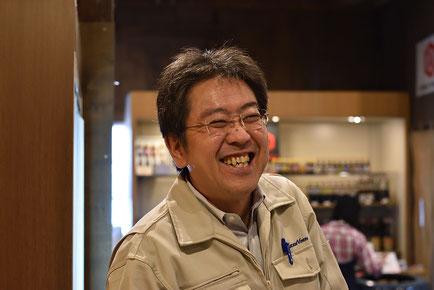 日本醤油工業 総務部長鈴木さん