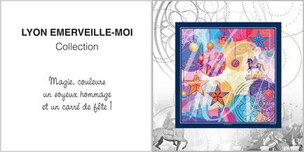 Foulard de soie, ladytie, chaussette, étole, écharpe de la collection LYON EMERVEILLE-MOI