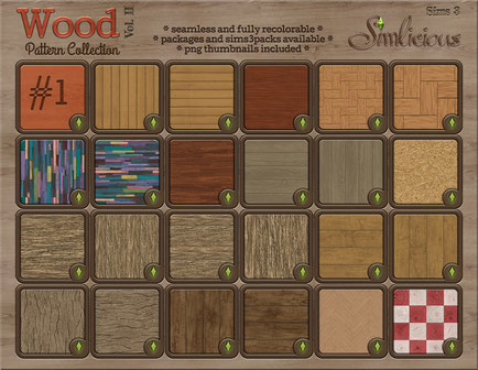 Wood Pattern Collection Vol.2
