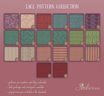 Lace  Pattern Collection