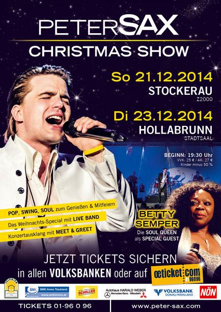 Peter Sax Christmas Show