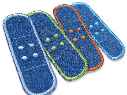 Bild: Bügelflicken Hosenpflaster Jeans Jeansflicken Hosenflicken Kinder Erwachsene Patches zum aufbügeln