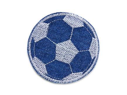 Bild: Fußball Flicken Jeansflicken