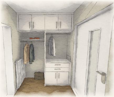 Tischler kirstein schubert Möbel Waschtisch Badezimmer