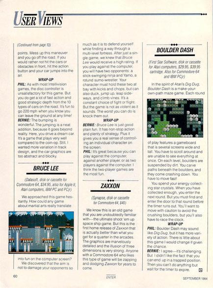 Bruce Lee Atari 8-bit