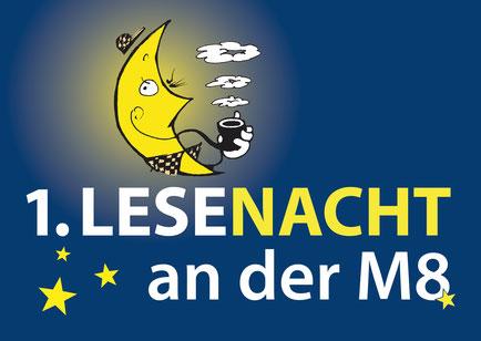 Ich gestalte die Drucksachen für die 1. Lese-Nacht an der M8 im Januar 2017 in Berlin-Marzahn.