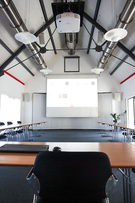 Anschlussfeld Konferenzraum Medientechnik