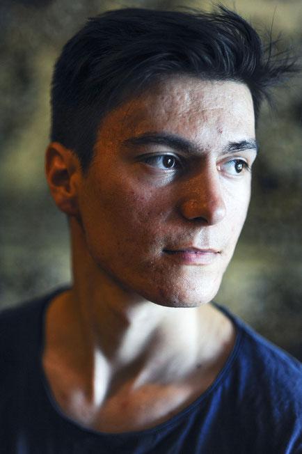 Andrey Kolioglo ist Gagause — und schwul. Eine Kombination, die in der Republik Moldau nicht gern gesehen wird. Fotos: Éric Vazzoler