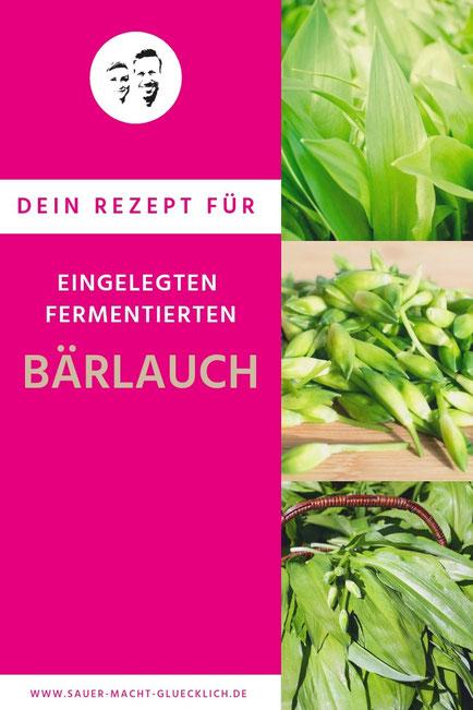 fermentierte Bärlauchkapern