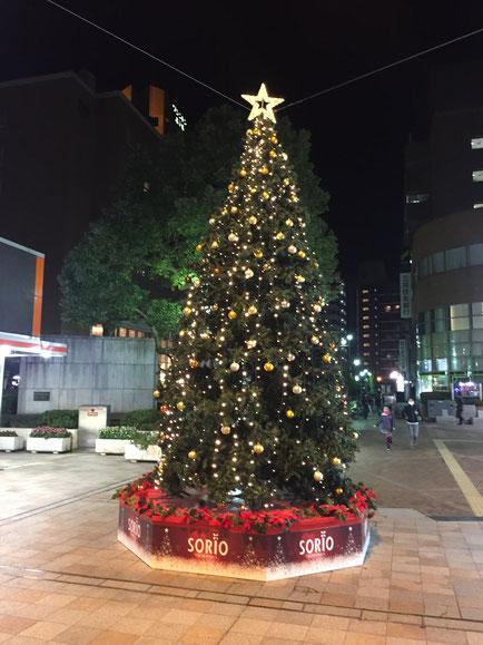宝塚駅のクリスマス