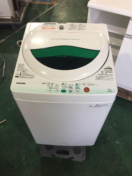 TOSHIBA全自動洗濯機