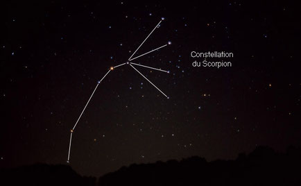 1/2 constellation du scorpion