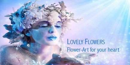 Herzlich Willkommen bei LOVELY FLOWERS PAPER-ART for your heart!