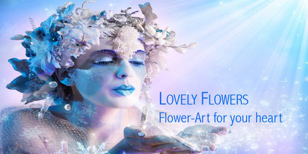 Herzlich Willkommen bei LOVELY FLOWERS PAPER & SILK-ART for your heart!