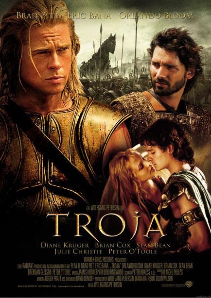 Pitt und Troja [Quelle: moviepilot.de]