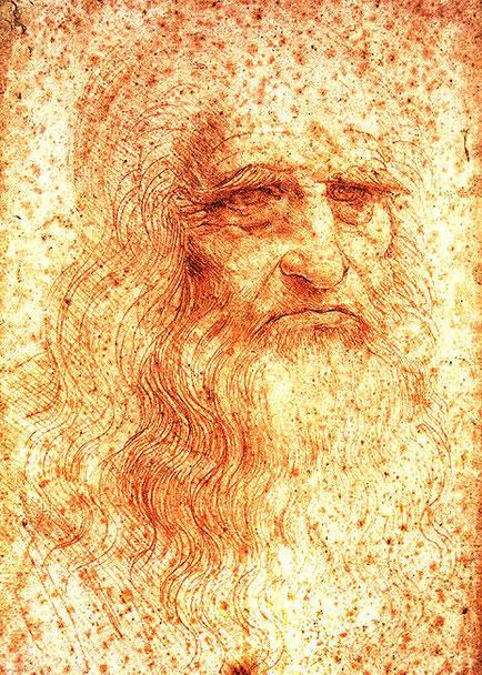 Автопортрет - самые известные картины Леонардо да Винчи