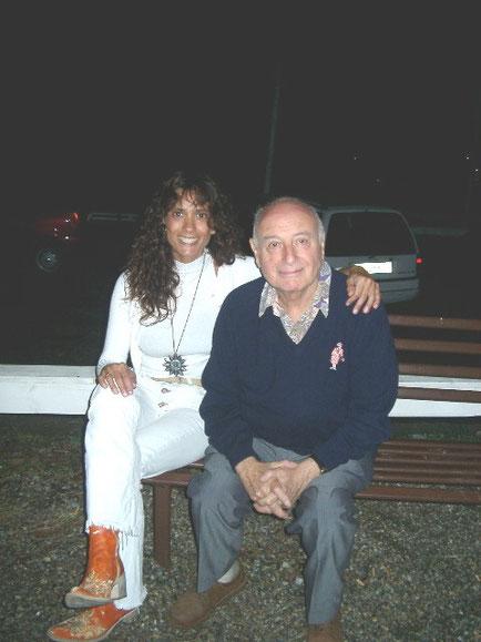 con Mimmo Rotella -2003-