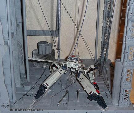 1/60 Diorama - DYRL crash scene- Ratatarse Factory