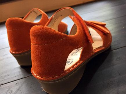 靴の履き心地はかかとの「ホールド力」で決まります!
