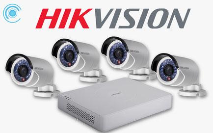 hikvision, cámaras vigilancia, video, seguridad