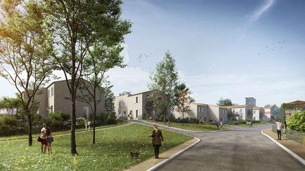 Projet d'habitat participatif à Nérigean (Gironde)