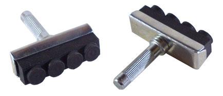 patins de frein type cantilever tirage central