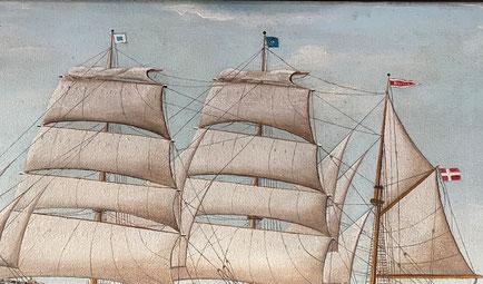 The Scandinavian Sailing Ship 'Havila'