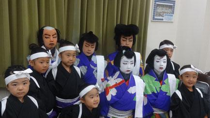 白波五人男 浅草子供歌舞伎