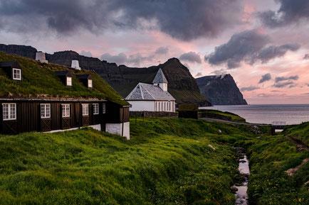 Färöer Inseln, Fotoreise Färöer, Viðareiði