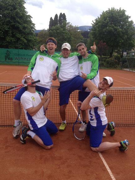 Michael Zehentner, Manuel Schretter, Martin Taudes, Lukas Persterer, Franz Zehentner